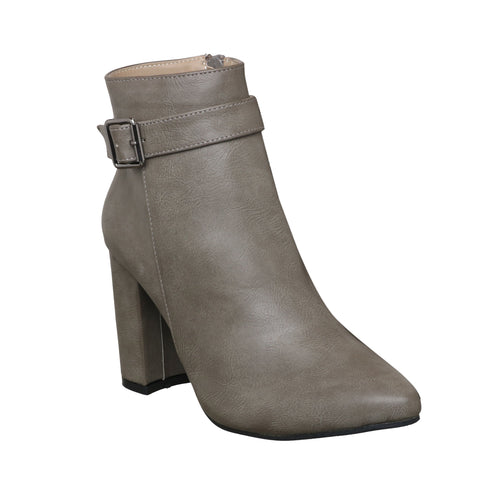 MSC Women Synthetic Grey Boots