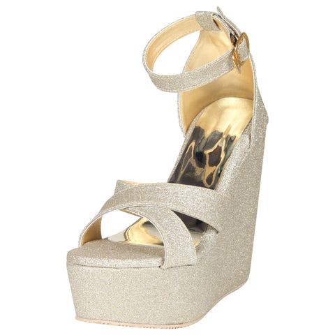 Lency Stylish Kitten pump wedges heel
