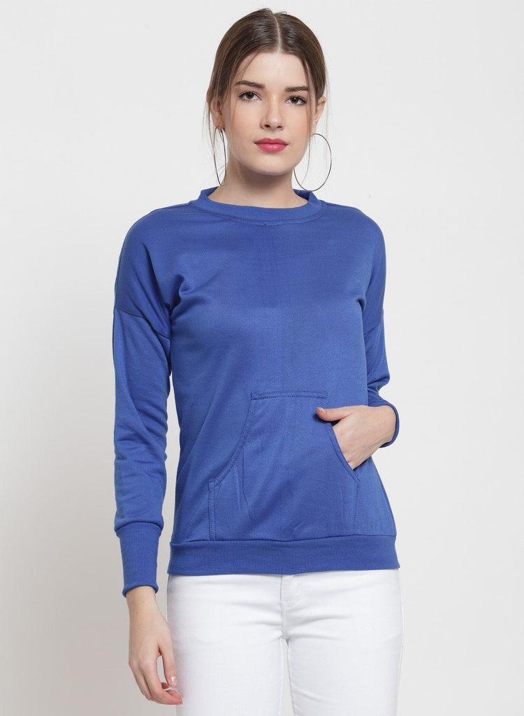 Belle Fille Blooming Blue Sweatshirts