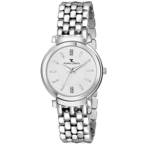 Work Wear Silver Analog Designer Watch