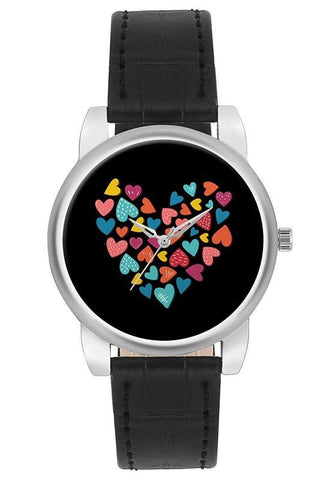 Analog Heart Watch