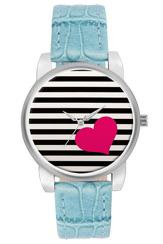 Leather Band Women's Watch