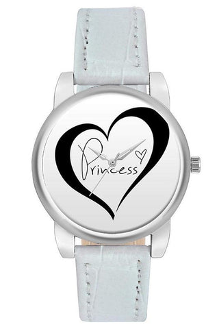 Princess Heart Dial Elegant Watch