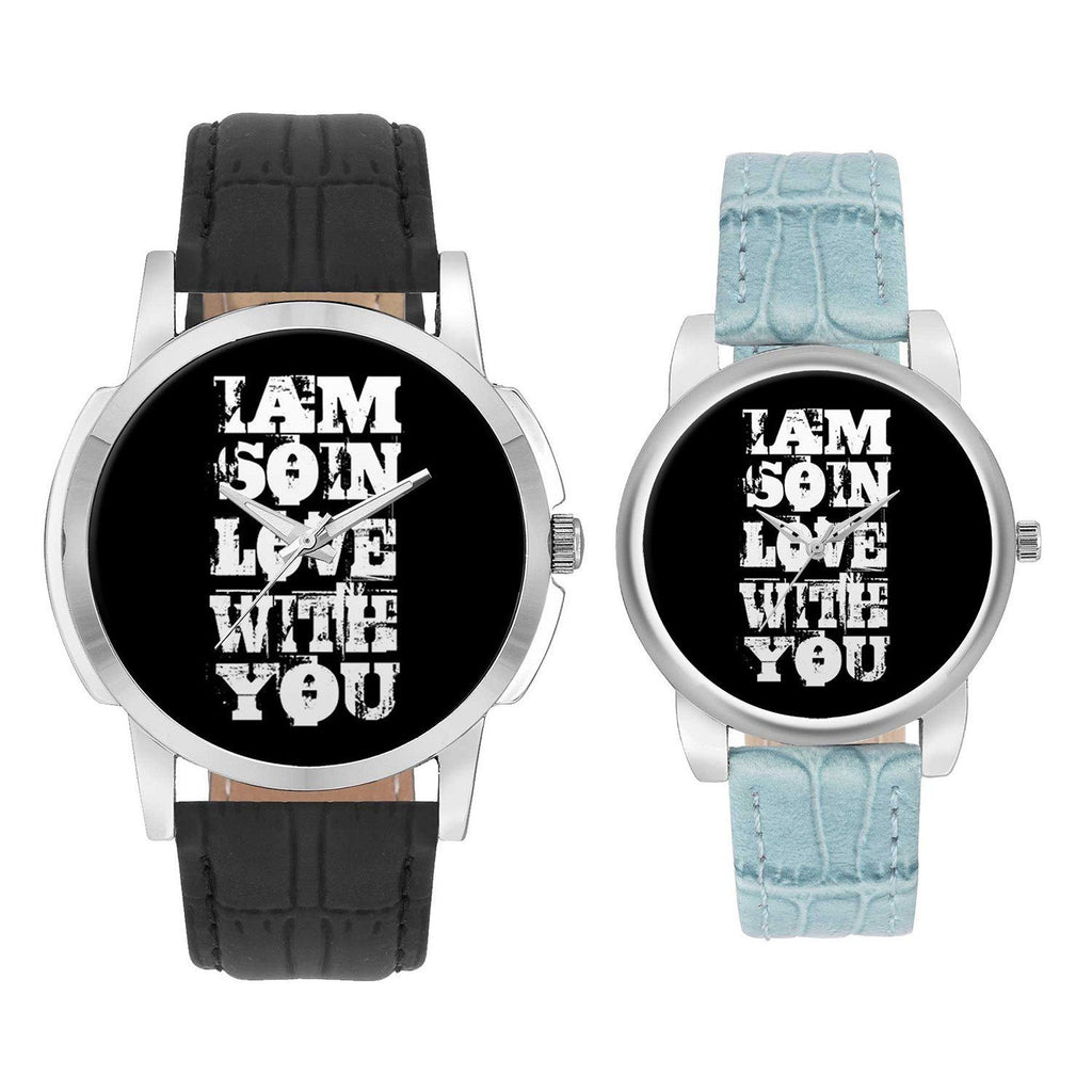 Wrist Watch India |  I Fell In Love The Way You Fall Asleep  Couple Watch  Online India
