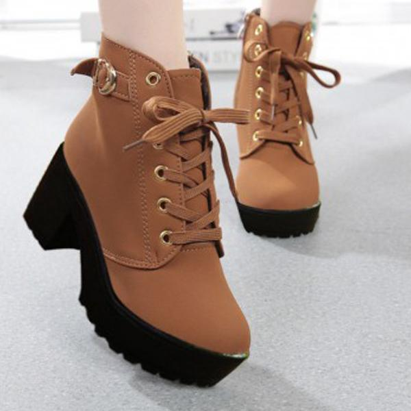 Light Colored Boots