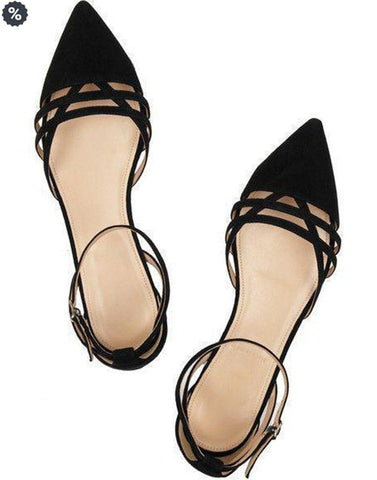 Sling Pointed Toe Ballerina
