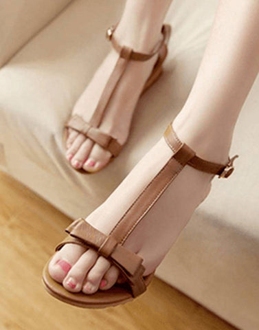 T Strap Sultry Flat