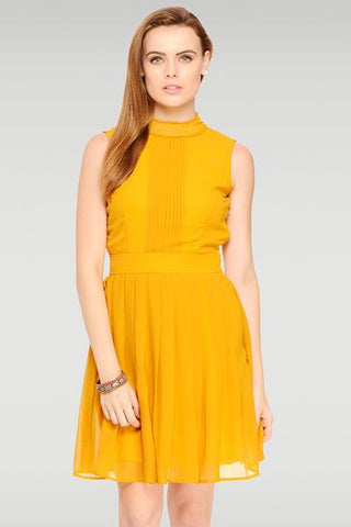 Set In Your Sway Yellow Dress