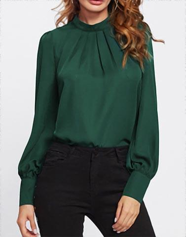 Glorious Green Formal Top