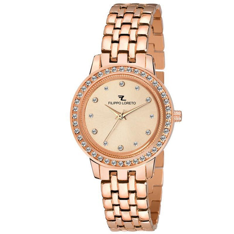 Carlie Rose Gold Dashing Watch