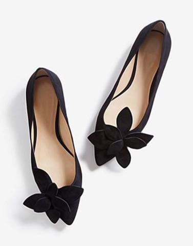 Flower Cut Trendy Mules