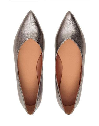Ice Queen Pointed Toe Flats