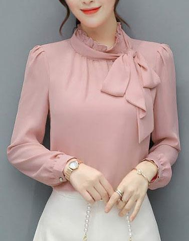 Soft Touch Pink Top – Street Style Stalk