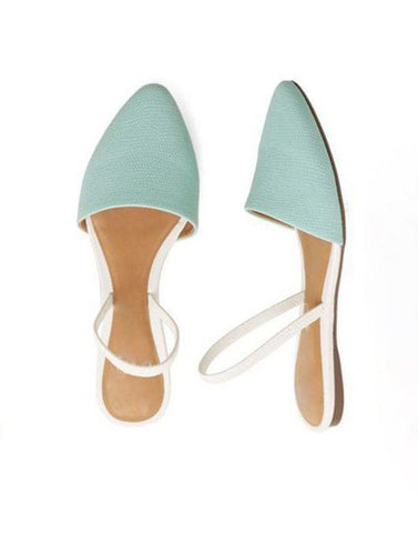 Classy Pointed Sling Flats
