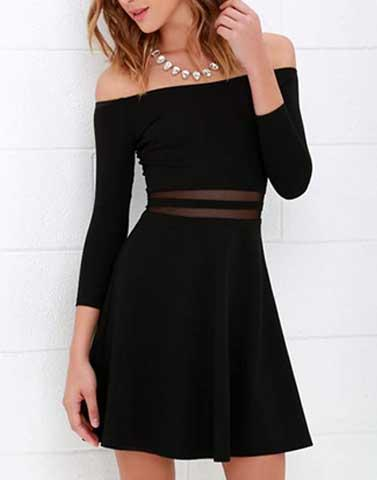 Elegant Eve Black Dress