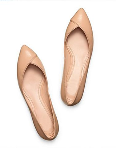 Simple Fusion Nude Footwear