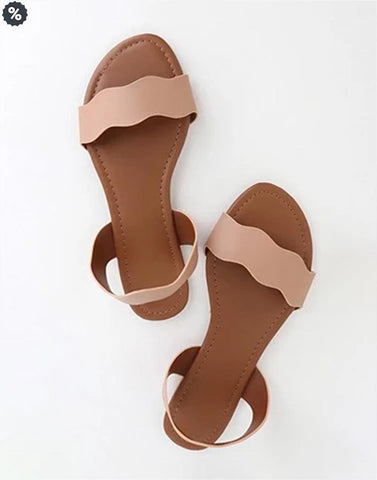 Blushing Beauty Flat Footwear
