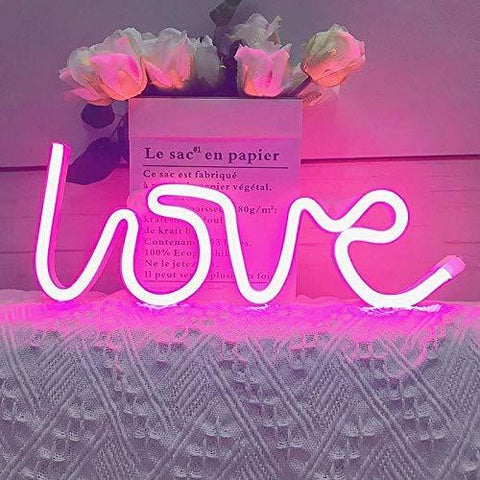 Eitheo Love Led Light( Pink)