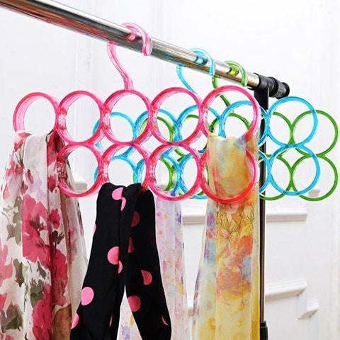 Eitheo Single Line 10 Ring Dupatta Hanger