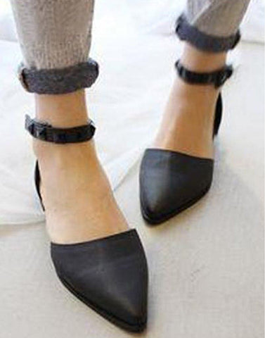 Comely Pointed Toe Ballerina