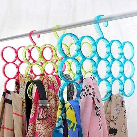 Eitheo Triple Line 15 Ring Dupatta Hanger