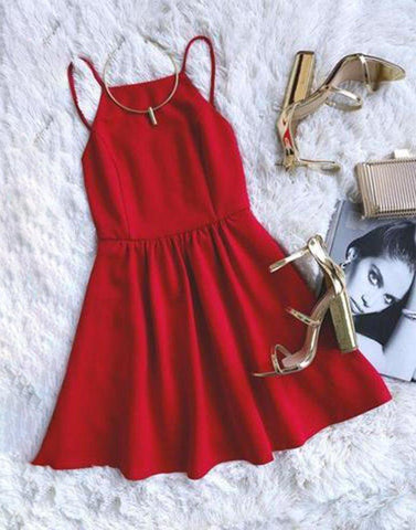 Get Me Red Dress