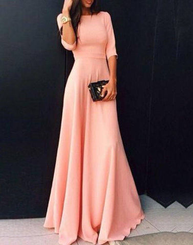 Peach Lovely Gown