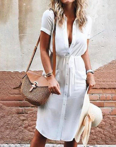 Cool Tied-Up Dress