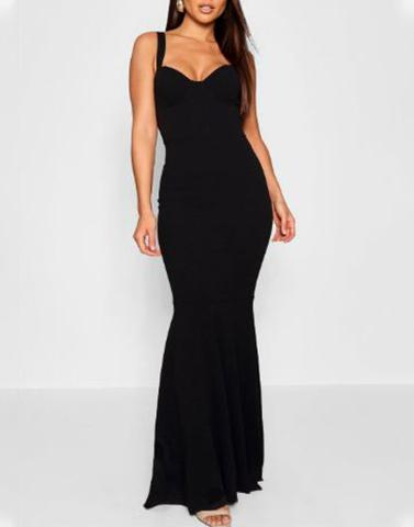 Night Of Elegance Black Gown