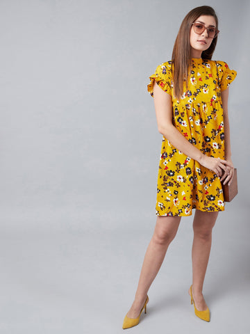 Flower Baby Yellow Dress