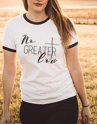 Love Quote White Tee