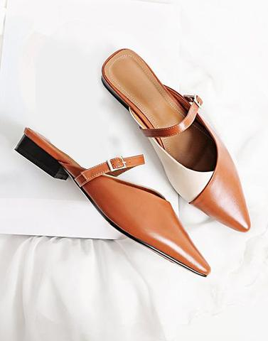 Back To Office Brown Flats