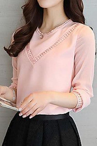 Peach Lovely Top