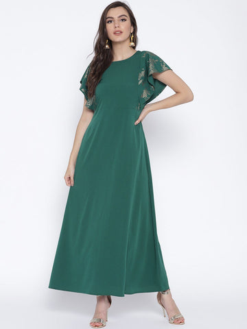 Blue Green Kurta Dress