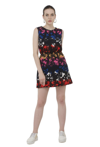 Super Cool Multicolor Middi Dress