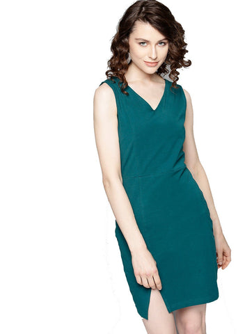 Besiva Women's Sleeveless Bodycon Dress