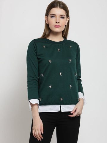 Belle Fille Going Green Sweatshirts