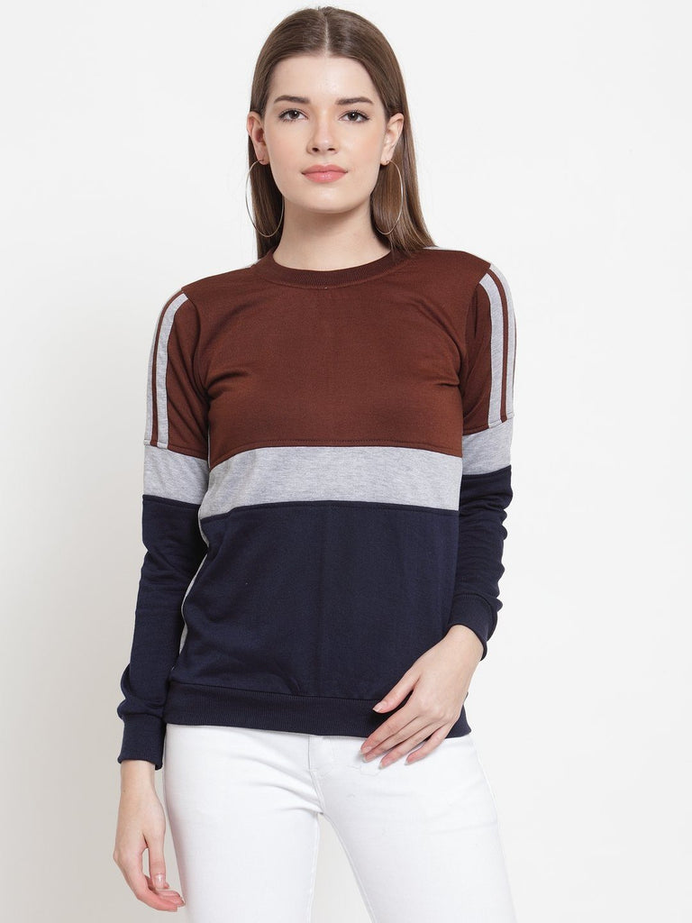Belle Fille Bomb In Brown Sweatshirts