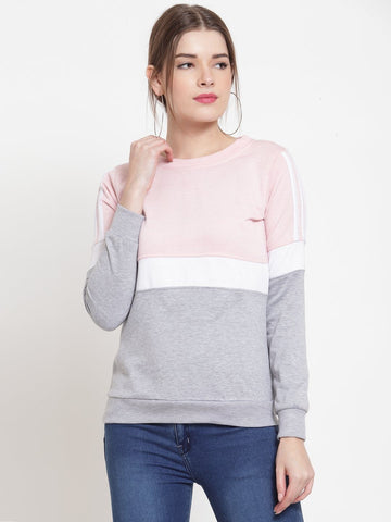 Belle Fille Pink Cozy Sweatshirts