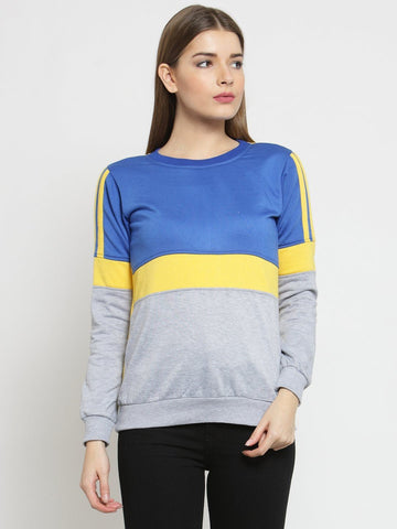 Belle Fille Cute Blue Sweatshirts