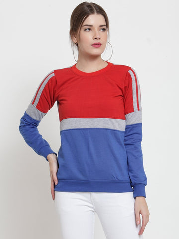 Belle Fille Red Rebel Sweatshirts