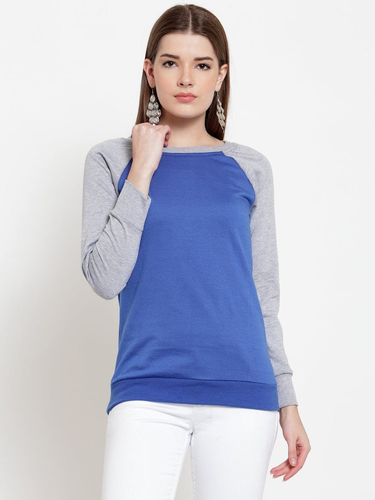 Belle Fille Sweetheart Blue Sweatshirts