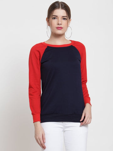 Belle Fille Chic Navy Blue Sweatshirts