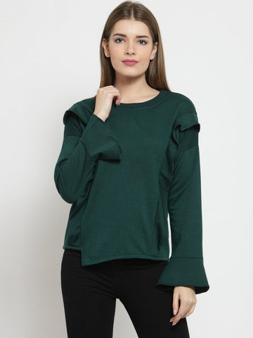 Belle Fille Forever Green Sweatshirts