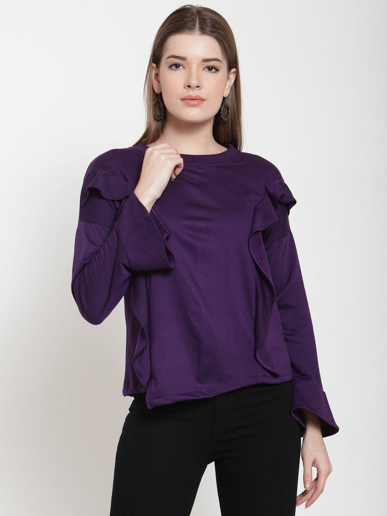 Belle Fille Precious Purple Sweatshirts