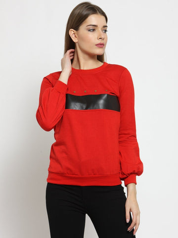 Belle Fille Riding Red Sweatshirts