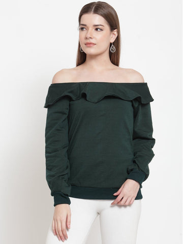 Belle Fille Gorgeous Green  Sweatshirts