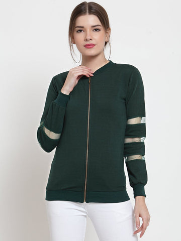 Belle Fille Green Goddess Sweatshirts