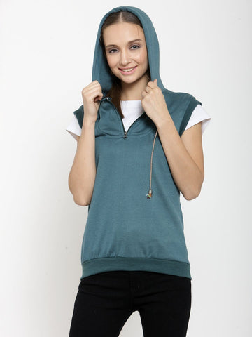Belle Fille Calming Teal Sweatshirts