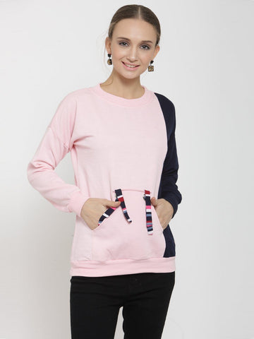 Belle Fille Pink Punk Sweatshirts